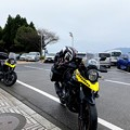 Photos: 同じ神戸で同じ色のVstromとこんな地で遭うとは