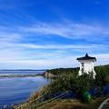日本最古の木造灯台 旧福浦灯台