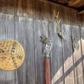 Photos: 鹿の角のハンガー