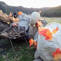 Photos: 焚火かまど 秋バージョン