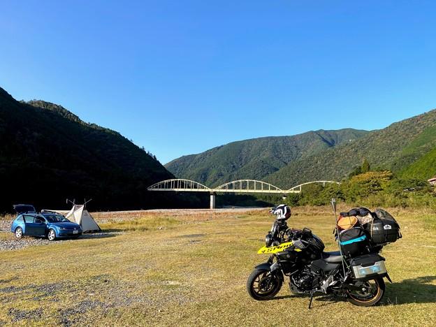 北山川河川敷