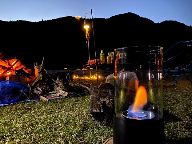 Photos: 今夜は火祭り
