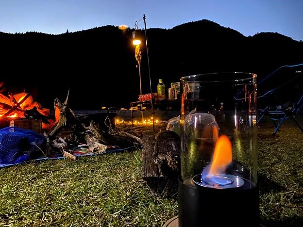 今夜は火祭り