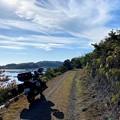Photos: 牡蠣筏が浮かぶ虫明の海