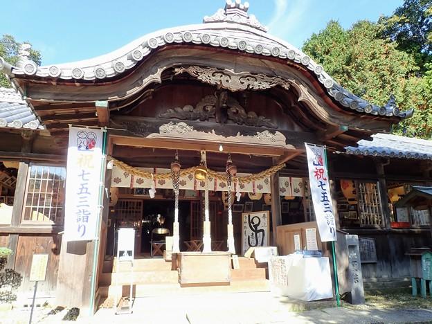 牛窓神社 拝殿
