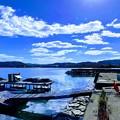 Photos: 玉津食堂から眺める漁港