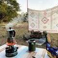 Photos: 野営地のひと時
