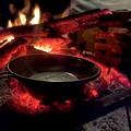 Photos: 直火で熱燗