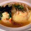Photos: 朝食は真魚市で海鮮うどん