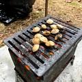 Photos: 焼き銀杏をおつまみ
