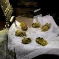 牡蠣天ぷら出来上がり