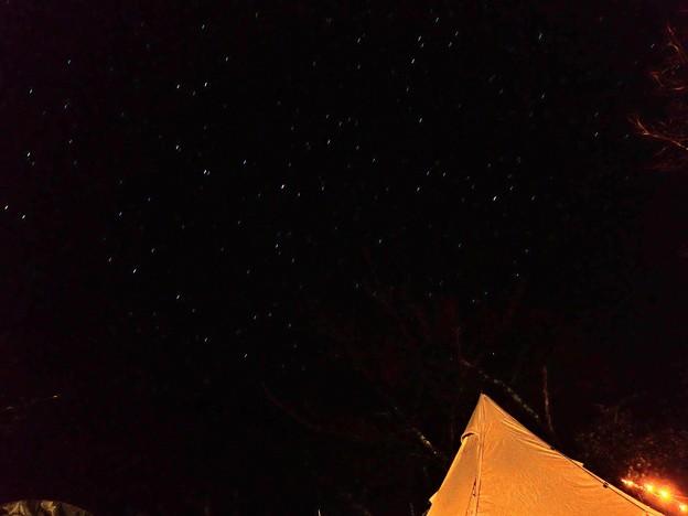 後山でも星空