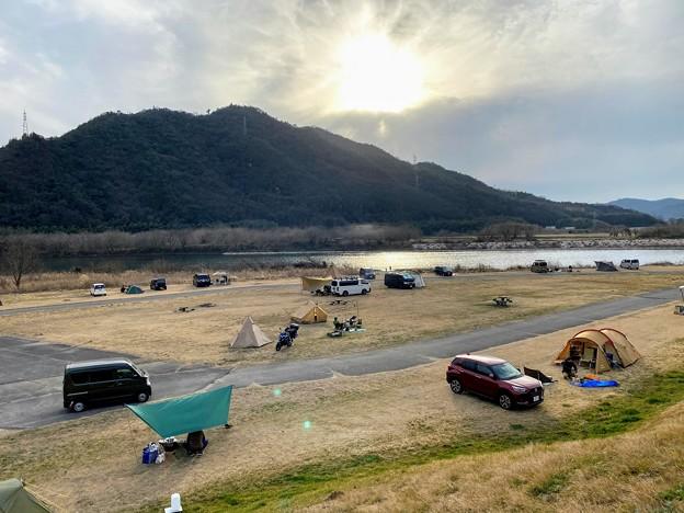 瀬戸吉井川緑地を俯瞰