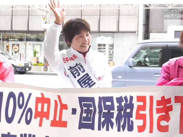 県議選スタート (3)
