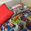 写真: MARVEL 寝具