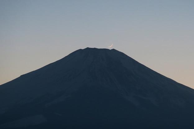 山頂にそっと