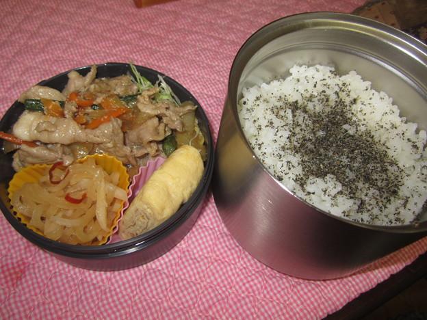 肉野菜炒め弁当 19Nov.Mon.