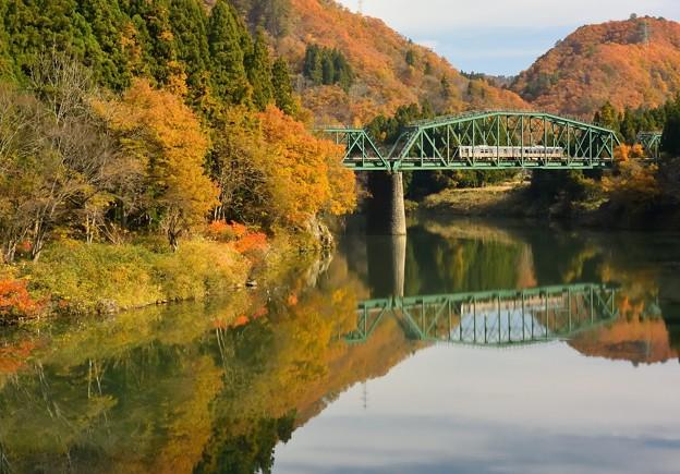 磐越西線_徳澤橋梁