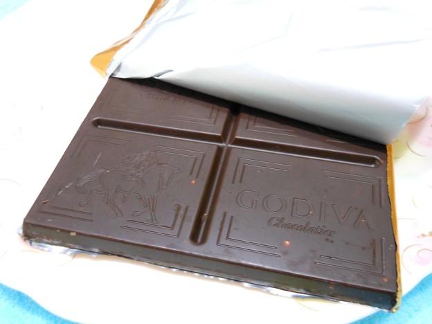 GODIVA*ダークチョコレートアーモンド2