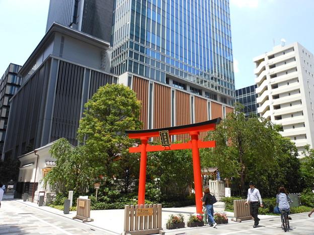 日本橋*福徳神社2