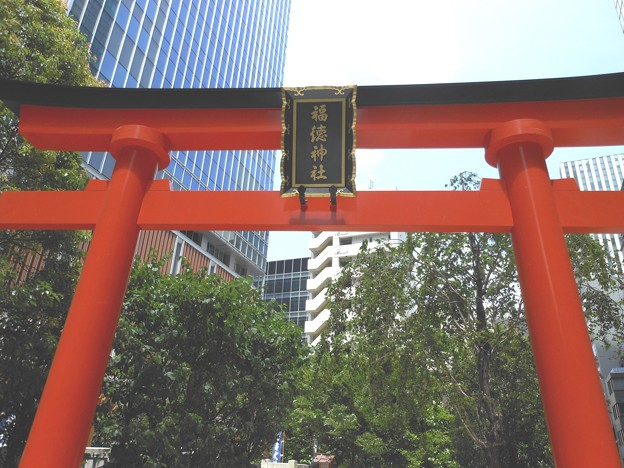 日本橋*福徳神社3
