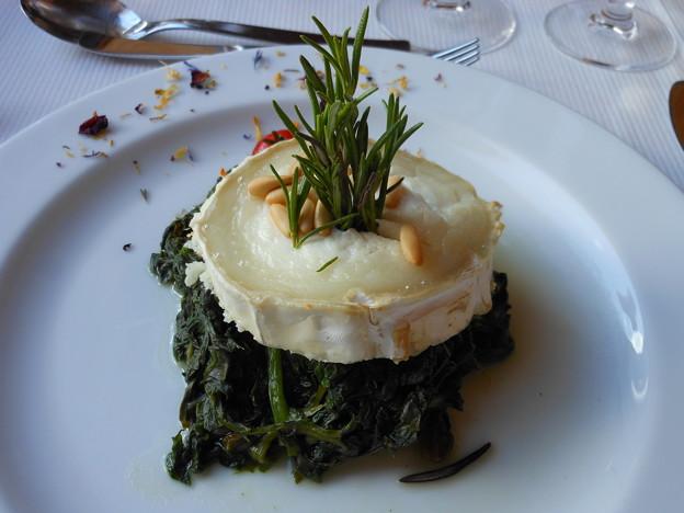 スイス 3100クルムホテルゴルナーグラート 夕食