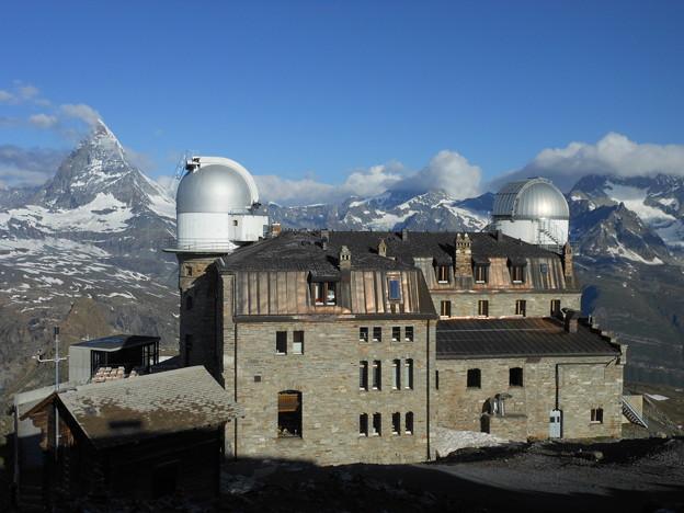 スイス マッターホルン ゴルナーグラート展望台 3100クルムホテルゴルナーグラート