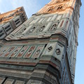 写真: フィレンツェ*夕映えのジョットの鐘楼は美し過ぎる。