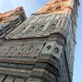 フィレンツェ*夕映えのジョットの鐘楼は美し過ぎる。