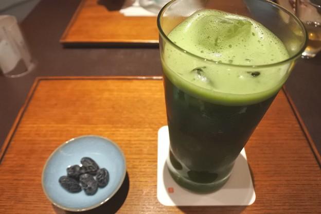 京都駅・JR新幹線構内*京下鴨 宝泉・冷抹茶