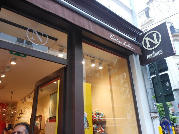 ブリュッセル*日本未輸入のチョコ・ノイハウス1