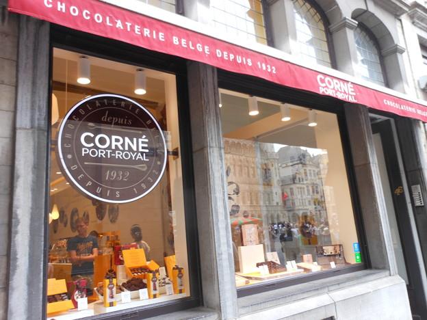 ブリュッセル*日本未輸入のチョコ・コルネ