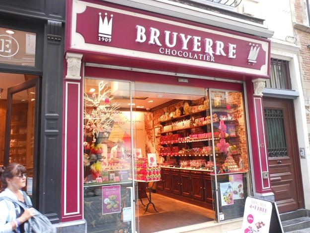 ブリュッセル*日本未輸入のチョコ・ブリュイエール1