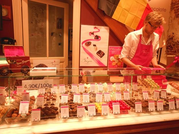 ブリュッセル*日本未輸入のチョコ・ブリュイエール2
