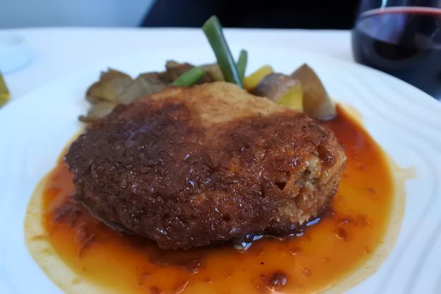 ANA・ヨーロッパ線*ビジネスクラスの食事4