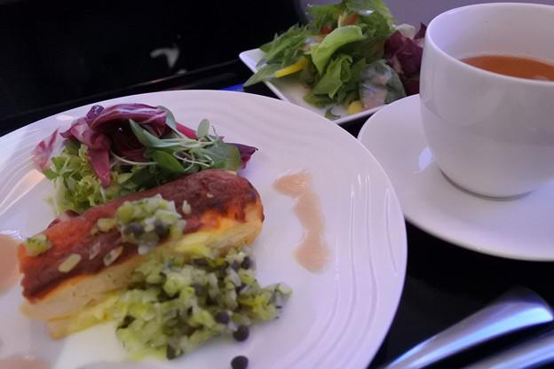 ANA・ヨーロッパ線*ビジネスクラスの食事7