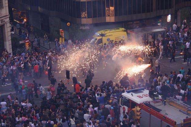 バルセロナ最大のお祭り~