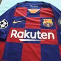 バルセロナ*メッシのTシャツ