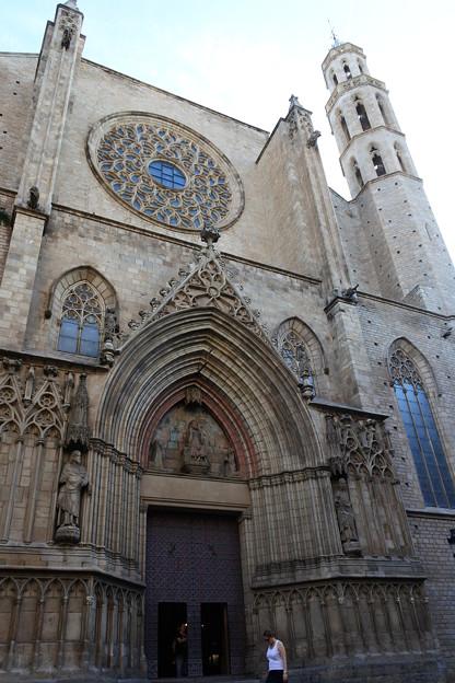 バルセロナ*海の聖母マリア教会1