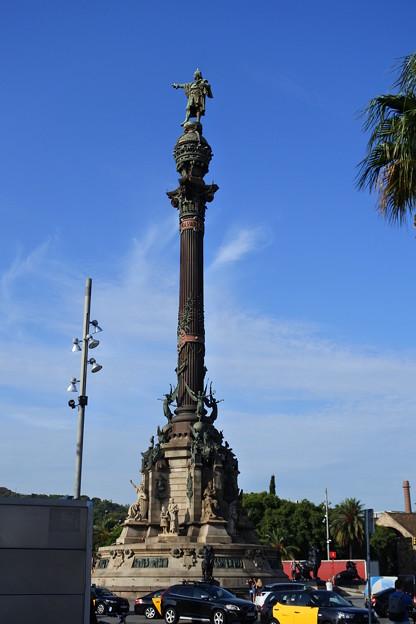 バルセロナ*コロンブス記念塔
