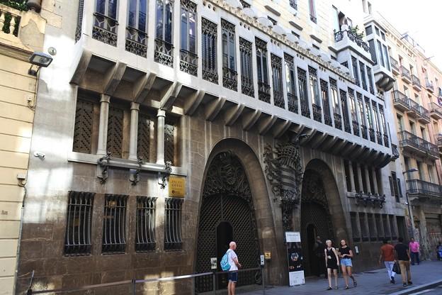 バルセロナ*グエル邸