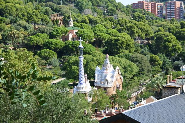 バルセロナ*グエル公園1