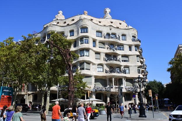 バルセロナ*カサ・ミラ1