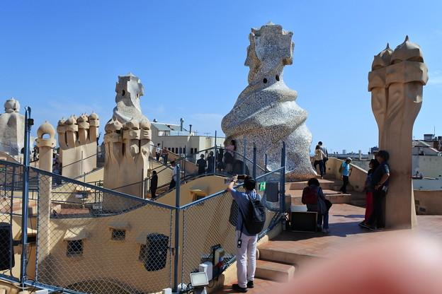 バルセロナ*カサ・ミラ2