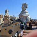 Photos: バルセロナ*カサ・ミラ2