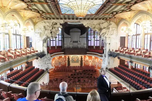 バルセロナ*カタルーニャ音楽堂2
