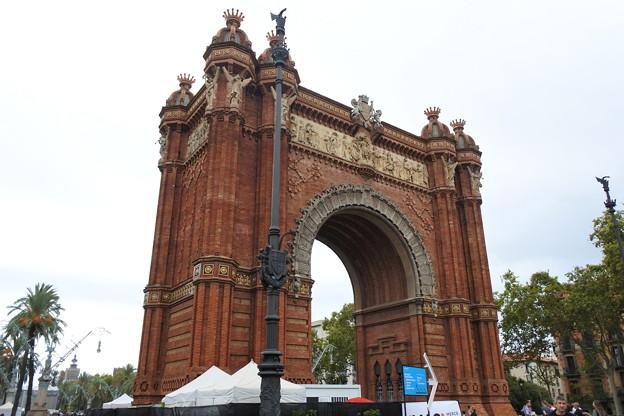 バルセロナ*凱旋門