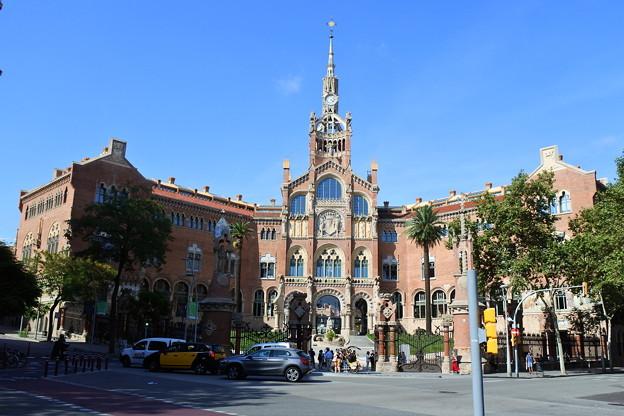 バルセロナ*サン・パウ病院