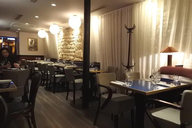 パリのビストロ「LE BRUN」の料理1