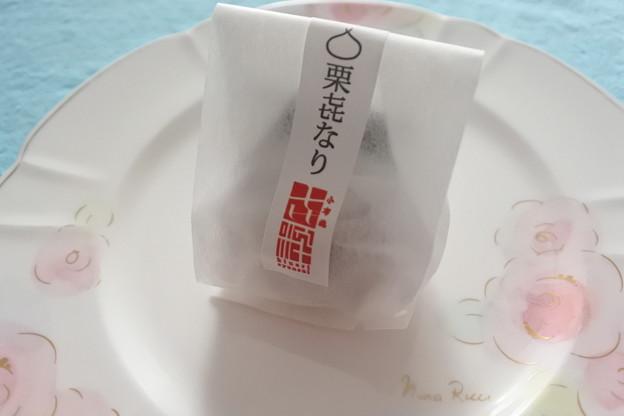 長野銘菓*栗?なり(くりきなり)2